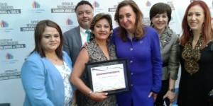 Otorgan al gobernador Roberto Borge reconocimiento por la prevención de trata