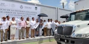 Arranca entrega de libros de texto gratuitos en todo el estado de Veracruz