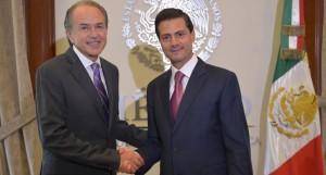 Se reúne el Presidente Enrique Peña Nieto y el Gobernador Electo de San Luis Potosí