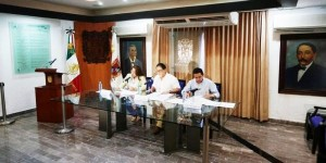 Solicita el gobernador de Campeche al Congreso aprobar fecha, hora y lugar para VI Informe