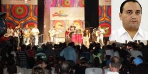 Anuncia el gobernador Roberto Borge el Festival de Cultura del Caribe 2015