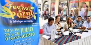 Segundo Festival del pozol en la capital de Tabasco