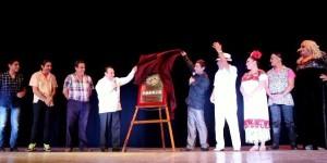 Ofrecen función especial por 50 representaciones de obra de teatro regional