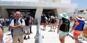Aumenta en más de 19 por ciento el cruce de visitantes a Isla Mujeres de enero a julio