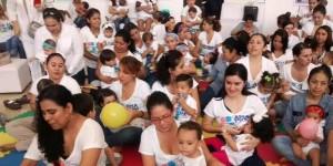 Hospital de la Mujer, realiza Amamantón internacional