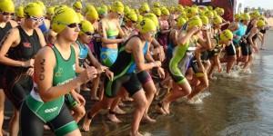 Compiten 3 mil 500 atletas en el Triatlón Veracruz-Boca del Río 2015