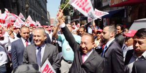 La CROC respalda a Beltrones Rivera y Monroy del Mazo