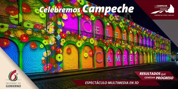 Celebremos Campeche sexto informe