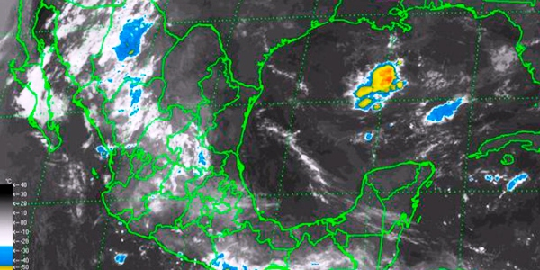 Chubasco y tormentas para Veracruz se esperan