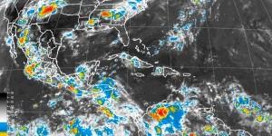 Lluvias muy fuerte se prevé en Yucatán, Campeche, Chiapas y Tabasco