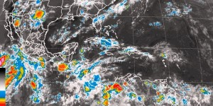 Durante las próximas horas, se prevén lluvias en gran parte de México