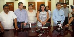 Presenta Congreso de Tabasco demanda penal por destrozos