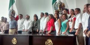 Entregan credenciales a Diputados que integrarán la LXI Legislatura en Yucatán