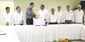 Formalizan Gobierno de Yucatán y Grupo Modelo compraventa de terrenos