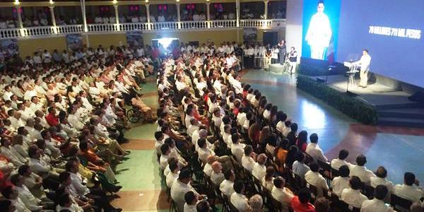 Informe VI del gobernador de Campeche