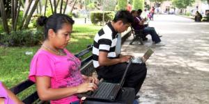 Mérida pasó de 51 a 127 parques con internet gratuito en la actual administración