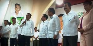 Cesar Camacho le toma protesta a nuevo delegado nacional en Campeche