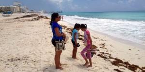 Playas públicas de Quintana Roo, en óptimas condiciones, revela monitoreo