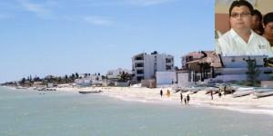 Realiza SSY monitoreo de agua de mar en costas del litoral yucateco
