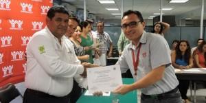 Promueven en Yucatán protección civil entre trabajadores del Infonavit