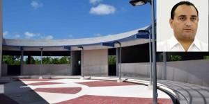 Fortalece Quintana Roo, infraestructura educativa de la UPQROO, Campus Cancún: Roberto Borge