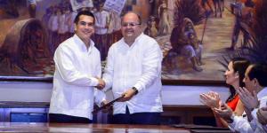 Nombra Alejandro Moreno a integrantes de su gabinete