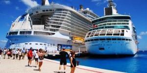 Llegaran 42 mil turistas de Crucero a las playas de Quintana Roo