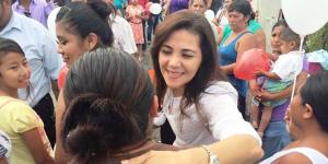 Dejo 48 millones de pesos etiquetados para obras en Campeche: Ana Martha Escalante