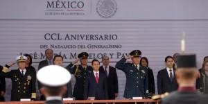 Encabezó Enrique Peña Nieto, el 250 Aniversario del Natalicio de José María Morelos y Pavón