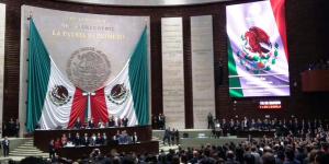 Todo listo para recibir el Tercer Informe de Gobierno del Presidente Enrique Peña