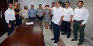 Se realiza enroque en el gabinete municipal de Solidaridad