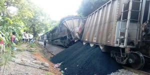 Choque ferroviario en José Azueta, sin riesgo para la población: PC