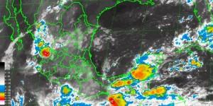 Se prevé lluvia intensa en Chiapas y Tabasco: SMN