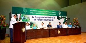 Celebran IV Congreso Internacional de Agronomía en la UJAT