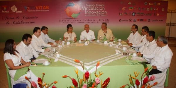 Convenio de vinculacion universidades de Tabasco
