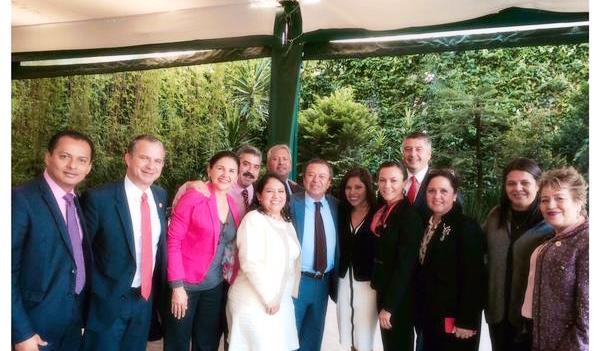 Diputada federal por Tabasco con el grupo parlamentario del PRI