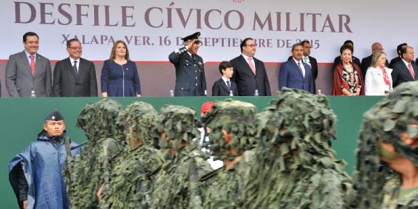 Duarte desfile civico militar