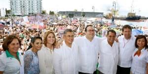 Anuncia Javier Duarte liquidación de pago de Clave RZ y Carrera Magisterial a maestros veracruzanos