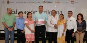 """Fortalecen la Educación Indígena en Campeche, Yucatán y Quintana Roo, al presentar """"Asignatura Maya"""""""