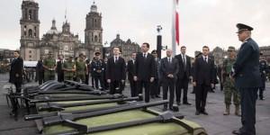 Encabeza Peña Nieto ceremonia en memoria de las personas que perdieron la vida en el sismo de 1985
