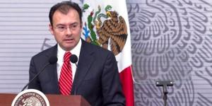 Entregará Videgaray este martes el paquete económico 2016