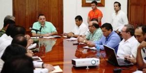 Monitorean disturbio meteorológico ubicado en la Península de Yucatán