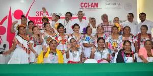 Celebran mujeres indígenas y productoras de Tabasco, asamblea para combatir el hambre