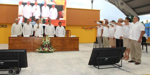 Han llegado los tiempos de renovación para Hopelchén: Moreno Cárdenas