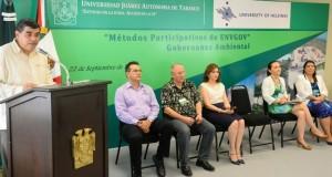 UJAT y Universidad de Finlandia inauguran el taller de métodos participativos