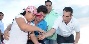 Moreno Cárdenas participa en el cierre de temporada de anidación de Tortuga Marina