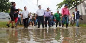 Continúan sin clases este martes 20 por condiciones climáticas en Coatzacoalcos