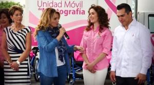 Angélica Rivera de Peña, invita desde Campeche a mujeres a fortalecer conciencia de cuidar su salud