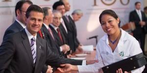El IMSS, conquista de los mexicanos y responsabilidad irrenunciable del gobierno federal: Enrique Peña Nieto