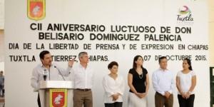 Aniversario luctuoso de don belisario dominguez tuxtla